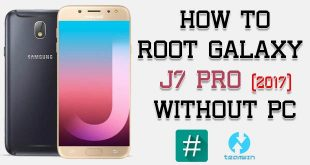 Root Samsung Galaxy J7 Pro