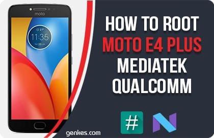Root Moto E4 Plus