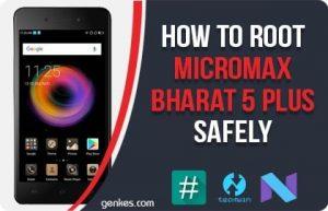 Root Micromax Bharat 5 Plus