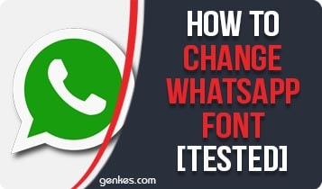 Change Whatsapp Font