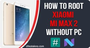 Root Mi Max 2 Without PC