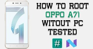 Root Oppo A71 Without PC