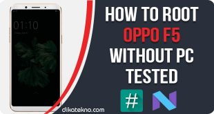 Root Oppo F5 Without PC
