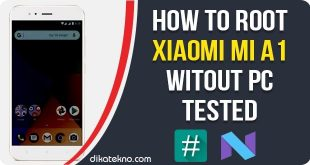 Root Xiaomi Mi A1 Without PC