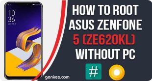 Root Asus ZenFone 5 (ZE620KL) Without PC