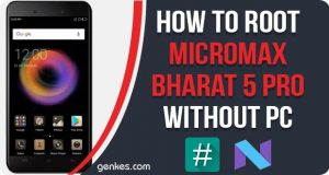 Root Micromax Bharat 5 Pro Without PC
