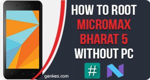 Root Micromax Bharat 5 Without PC