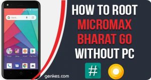 Root Micromax Bharat Go Without PC