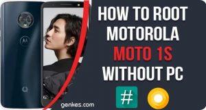 Root Motorola Moto 1s Without PC