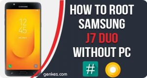 Root Samsung J7 Duo Without PC