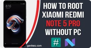 Root Xiaomi Redmi Note 5 Pro Without PC