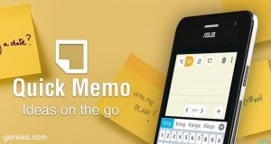 Fix Quick Memo App Missing