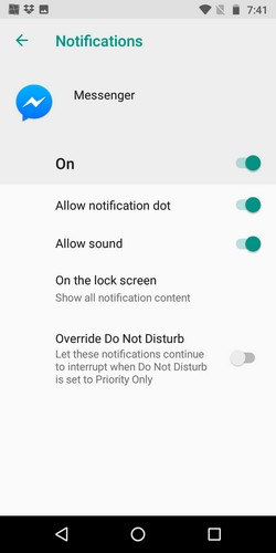 Disable and Customize Notifications in Android Oreo