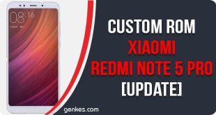 Custom ROM For Xiaomi Redmi Note 5 Pro