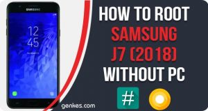 Root Samsung Galaxy J7 (2018) Without PC