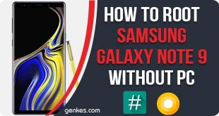 Root Samsung Galaxy Note 9 Without PC