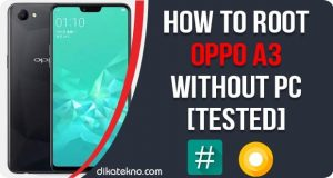 Root Oppo A3 Without PC