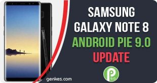 Install Samsung Galaxy Note 8 Android Pie Update