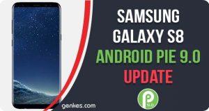 InstallSamsung Galaxy S8 Android Pie Update