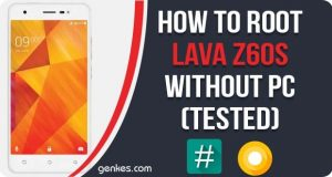 Root Lava Z60s Without PC