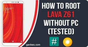 Root Lava Z61 Without PC