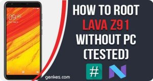 Root Lava Z91 Without PC