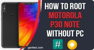 Root Motorola P30 Without PC