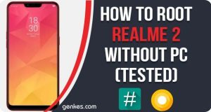 Root Realme 2 Without PC