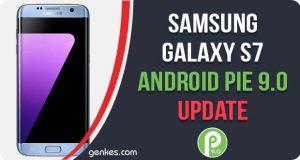 Samsung Galaxy S7 Android Pie 9.0 Update