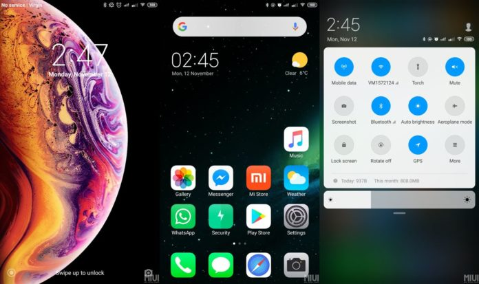 iMiuiOS UI Theme For MIUI 10/9 [MTZ] [Download] | Genkes