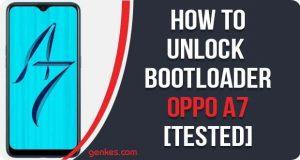 Unlock Bootloader on Oppo A7