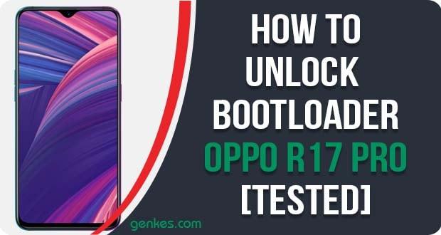 Unlock Bootloader on Oppo R17 Pro