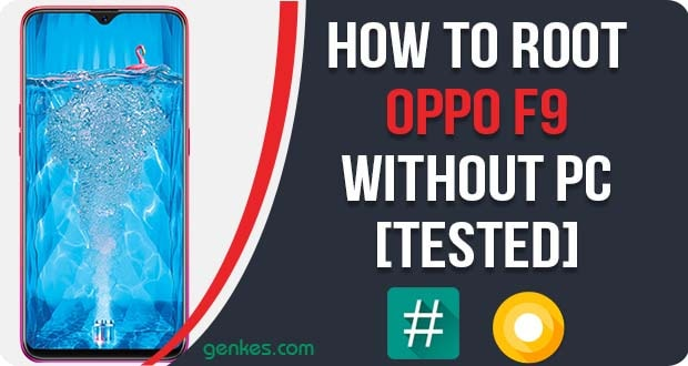 Root Oppo F9 Without PC