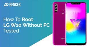 Root LG W10 Without PC