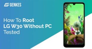 Root LG W30 Without PC