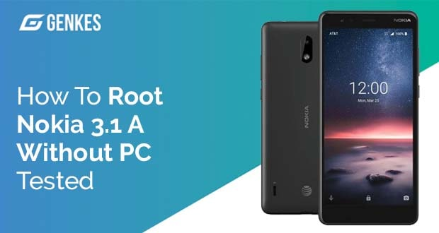 Root Nokia 3.1 A Without PC