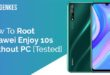 Root Huawei Enjoy 10s Without PC