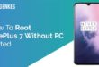 Root OnePlus 7 Without PC