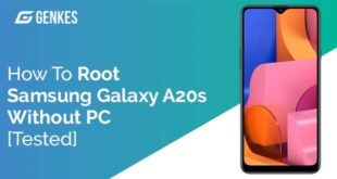 Root Samsung Galaxy A20s Without PC