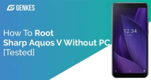 Root Sharp Aquos V Without PC