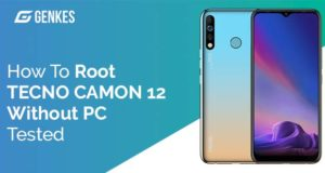 Root TECNO Camon 12 Without PC