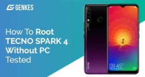 Root TECNO SPARK 4 Without PC