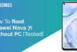 Root Huawei Nova 7i Without PC
