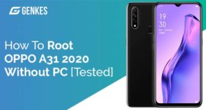Root Oppo A31 2020 Without PC