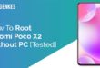 Root Xiaomi Poco X2 Without PC