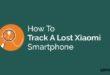 Track A Lost Xiaomi