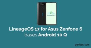 Lineage OS 17.1 for Asus Zenfone 6