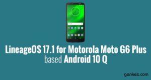 Lineage OS 17.1 for Motorola Moto G6 Plus