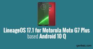 Lineage OS 17.1 for Motorola Moto G7 Plus