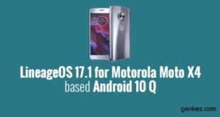 Lineage OS 17.1 for Motorola Moto X4